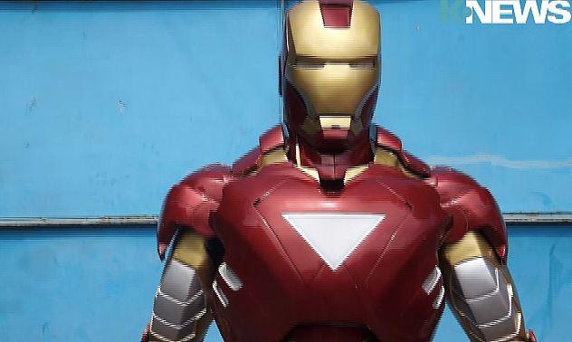 Азизжан Малик: Как я сделал свой первый костюм Железного человека