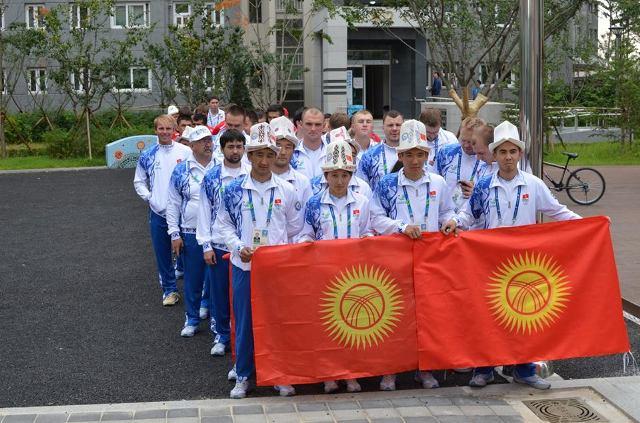 Кыргызские спортсмены подняли флаг Кыргызстана в Южной Корее