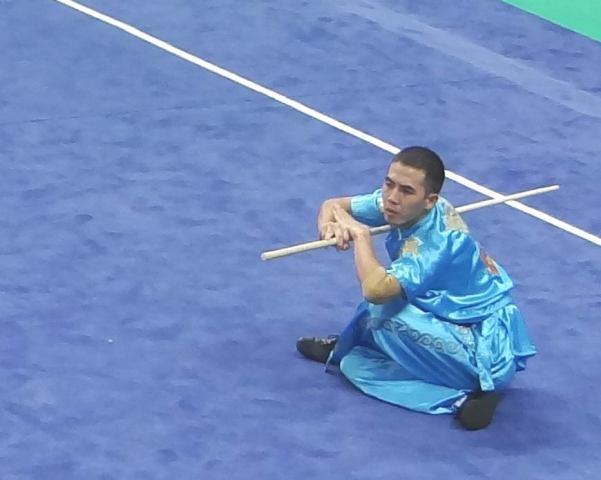 Азиатские игры: Алмаз Тойчуев занял шестое место по ушу таолу