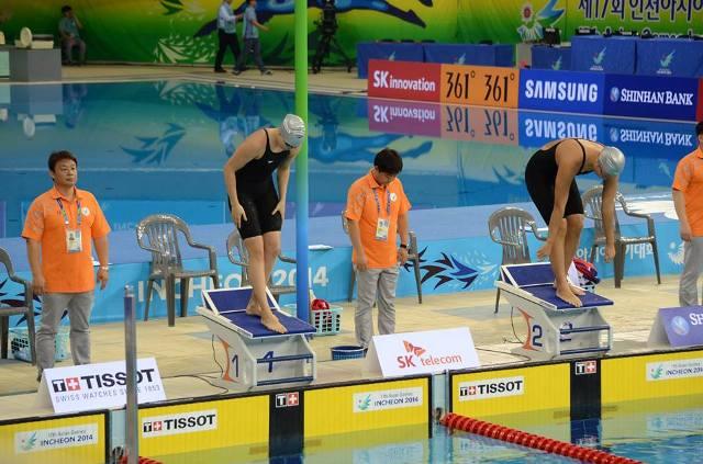 Азиатские игры: Дарья Таланова заняла 8-е место в заплыве на 100 метров брассом