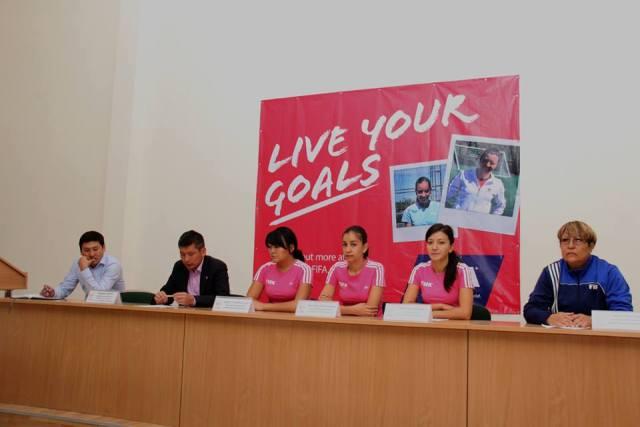 Федерация футбола реализовала программу ФИФА, нацеленную на развитие женского футбола