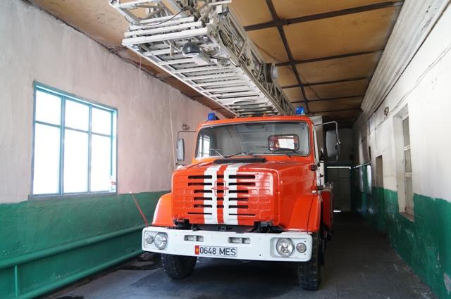 Пожарные Кара-Балты и Жайыльского района выразили благодарность ОсОО «Чайна Петроль Компани Джунда» за содействие при тушении пожаров