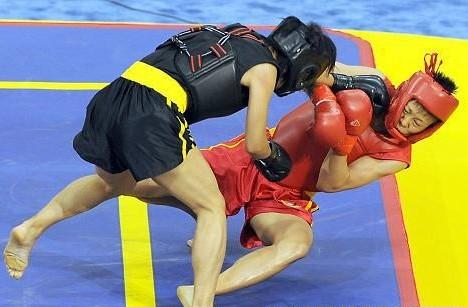 Азиатские игры: Субанбек Божоев прошел в четвертьфинал по ушу саньда