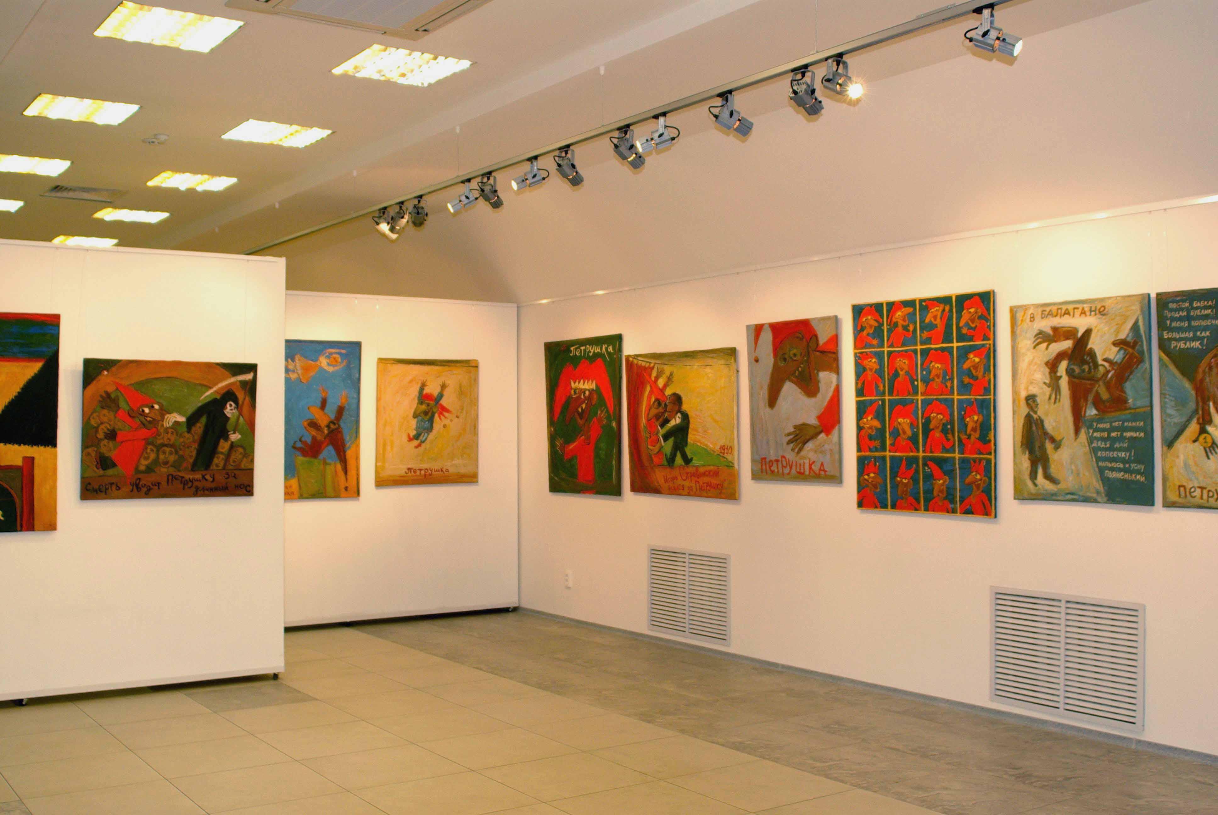 В музее ИЗО пройдет выставка современного искусства