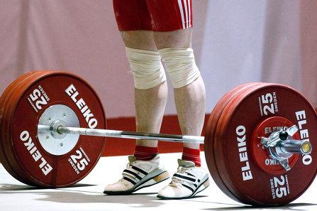 Определены победители первенства по тяжелой атлетике