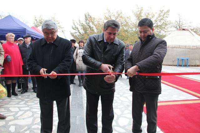 В Бишкеке стартовала универсальная выставка-ярмарка «Бишкек-2014»