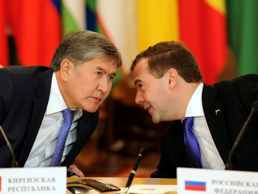 Атамбаев и Медведев обсудили создание кыргызско-российского фонда с капиталом $1 млрд