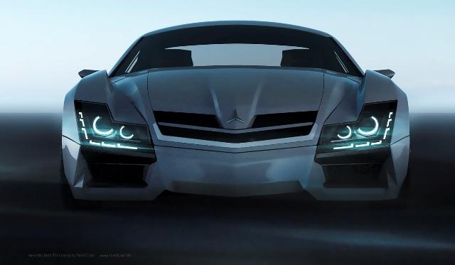 Автомобили будущего от молодого кыргызского дизайнера