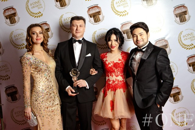 Фоторепортаж с церемонии вручения наград в области бизнеса и культуры #ONE MAGAZINE AWARDS 2014