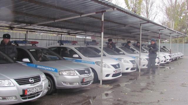 В Бишкеке создали спецбатальон дорожно-патрульной милиции