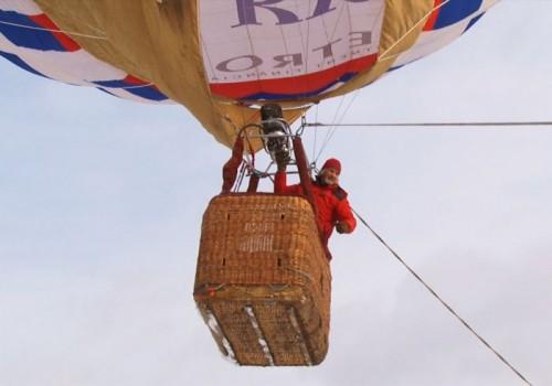 С визитом в Кыргызстан прибыл известный путешественник-воздухоплаватель Валентин Ефремов