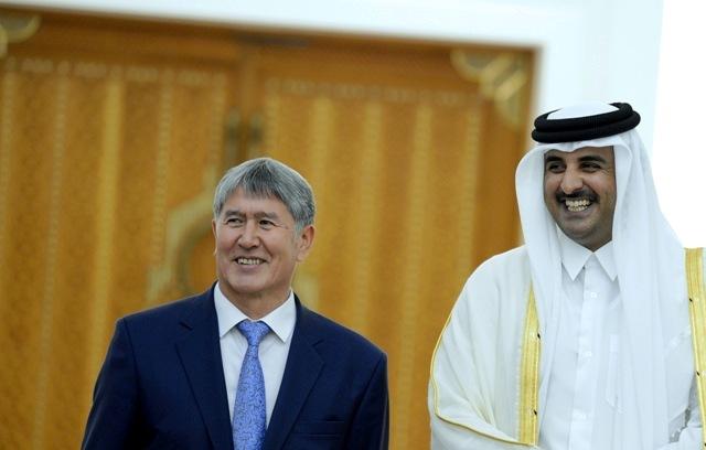 Атамбаев провел переговоры с эмиром Катара