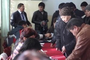 В Таласе зафиксированы нарушения выборного процесса