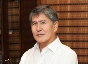 Алмазбек Атамбаев набрал количество голосов, необходимое для победы в первом туре