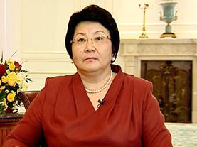 Интернет-пользователи выразят благодарность Розе Отунбаевой