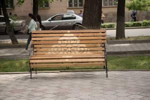 3D-скамейки установили в Бишкеке