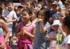Веселый праздник для детей организовало молодежное крыло партии «Республика-Ата-Журт»