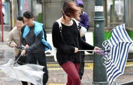 Девять человек пострадали в Японии из-за штормового ветра