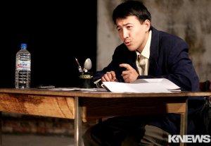 Бишкекчанам показали моноспектакль «Король крыс»