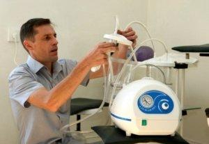 Ко Дню медика MegaCom передал оборудование Национальному центру фтизиатрии