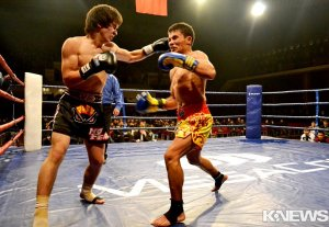 В Бишкеке прошел поединок за звание чемпиона Кыргызстана по кикбоксингу