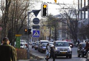 В Бишкеке установят новые светофоры