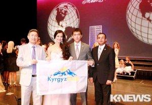 Кыргызстанка впервые приняла участие в конкурсе красоты «Миссис Мира» в США