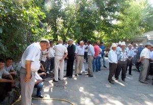 Коллектив облпрокуратуры митингует против массовых увольнений