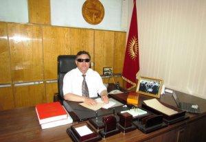 Кыргызскому обществу слепых и глухих подарили спецоборудование