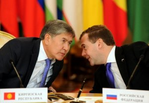 Алмазбек Атамбаев обсудил с Дмитрием Медведевым предстоящие переговоры