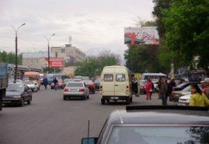 Для устранения пробок вокруг Аламединского рынка мэрия Бишкека перенесет оттуда конечную остановку маршруток