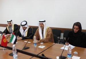 Джоомарт Оторбаев предложил делегации из ОАЭ создать совместный Деловой совет