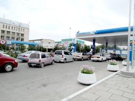В Бишкеке заканчивается бензин
