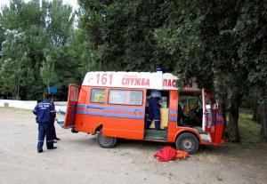 Спасение утопающих на Комсомольском озере