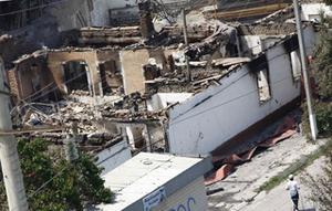 В результате землетрясения разрушены три отделения Кадамжайской больницы
