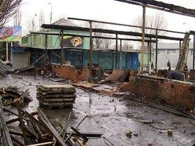 Правительство выделило Нарыну 2,5 миллиона сомов на восстановление сгоревшего рынка