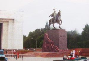 Эскизы нового памятника Манасу