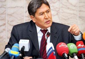 Алмазбек Атамбаев попросил бизнесменов выделить средства на памятники Манасу и Чингизу Айтматову