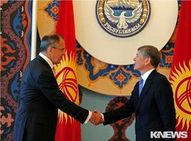 Визит главы МИД России Сергея Лаврова в Кыргызстан