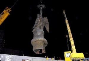 В столице демонтирована статуя «Эркиндик»