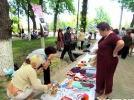 В столице прошла социальная ярмарка пожилых людей