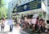 Студенты Политеха митингуют, требуя не закрывать кафедру экономжурналистики