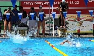 MegaCom выступил партнером соревнований по плаванию