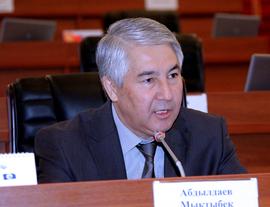 Мыктыбек Абдылдаев избран лидером фракции «Ата-Журт»