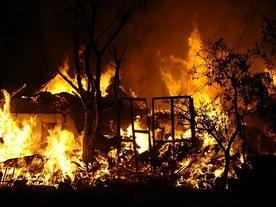 В Кыргызстане 25 августа произошло 16 пожаров