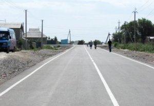 В жилмассиве Кара-Жыгач заасфальтировано 5 километров улиц