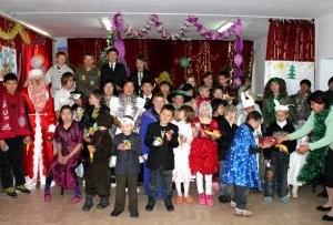 BakaiBank поздравил воспитанников детских домов с Новым годом