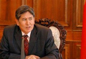 Алмазбек Атамбаев: «Отношения с Россией должны перейти на новый уровень»