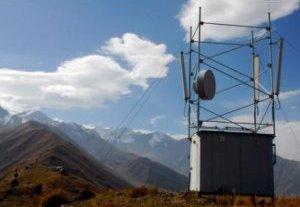 MegaCom продолжает установку базовых станций в Таласской области