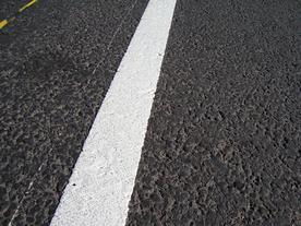 На нанесение дорожных разметок в столице было потрачено более 4 миллионов сомов